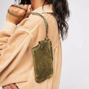 Free People Leather iPhone Wrislet Wallet